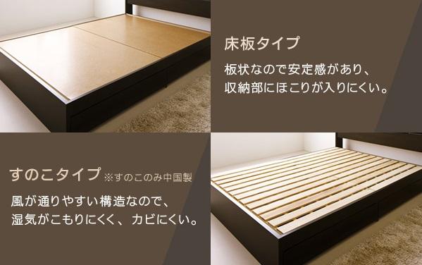 床板が選べます