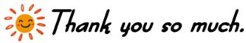 ありがとうございます