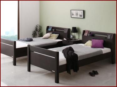 家族に2段ベッド1