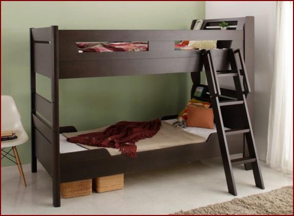 家族で使う2段ベッド ジョルジュ