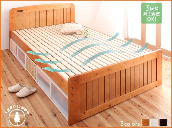 低価格すのこベッド フィット・イン