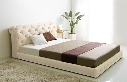 高級感のある姫系ベッド