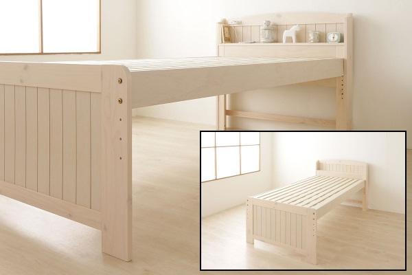 シンプルベッドのフリード