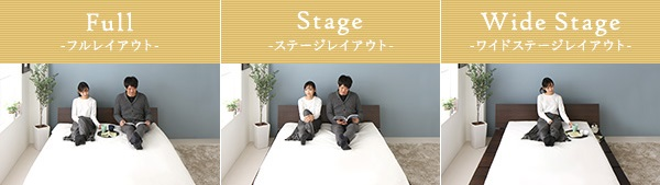 rolyalstage-bedの使い方例