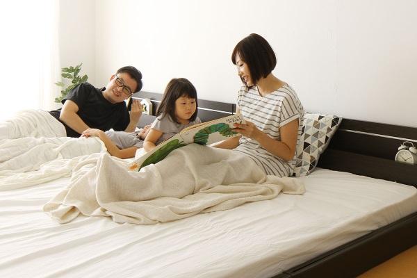 親子3人が笑顔で寝れる最適ベッド