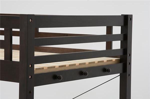 木製ベッドは強度が高い